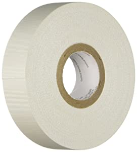 3M(TM) Glass Cloth Electrical Tape 27, White, Rubber Thermosetting Adhesive, 3/4 in x 66 ft