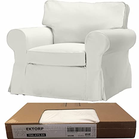 Pleasing Amazon Com Ikea Ektorp Chair Cover Blekinge White Home Ocoug Best Dining Table And Chair Ideas Images Ocougorg