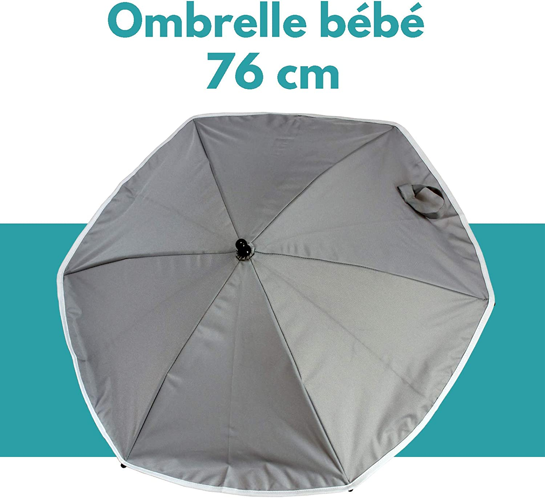 Gris Ombrelle Articul/ée Bambisol Attitude Fixation universelle