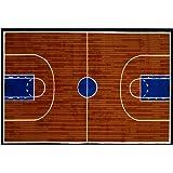 "LA Rug Basketball Court Rug 19""x29"""
