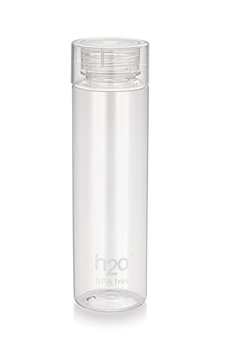 98fdd3603b Buy H2O Plastic Water Bottle, 1 Litre, Transparent Online at Low ...
