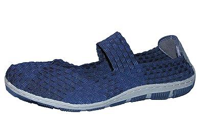 Schuhe Slipper Navy Blau Cape Town Memory Foam, EU 37 Rock Spring
