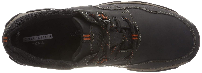 Clarks Herren Walbeck Edge (schwarz Ii Derbys Schwarz (schwarz Edge Leder) 147635