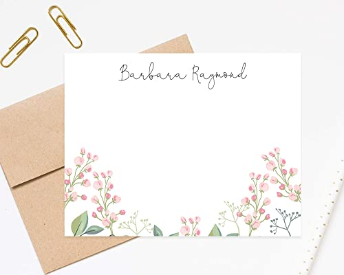 gift for mum Personalized note cards