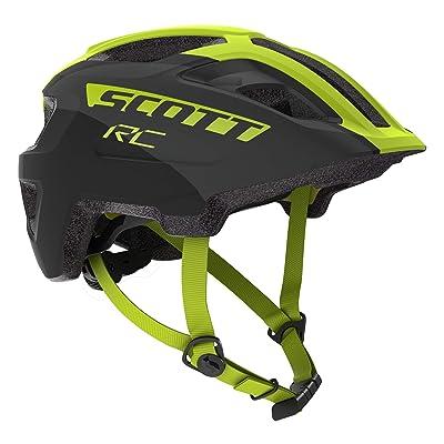 Scott Spunto Junior Plus Helmet - Kids' Black/Yellow Rc, One Size: Toys & Games