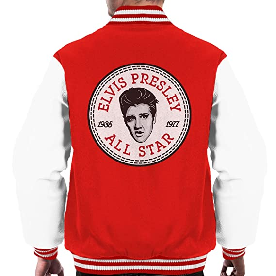 Elvis Presley All Star Converse Logo Men's Varsity Jacket