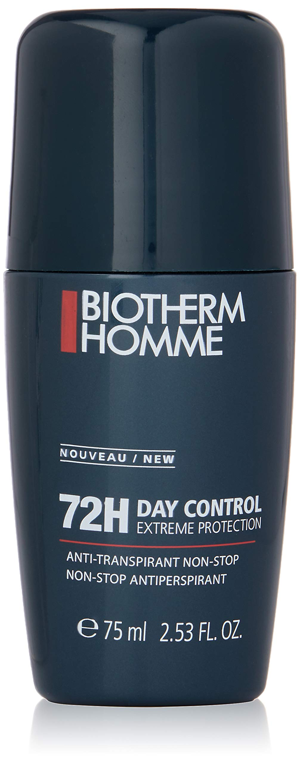 Biotherm Homme Day Control Deo Anti-perspirant Roll-on 72h Extreme Performance For Men-2.53 Oz.