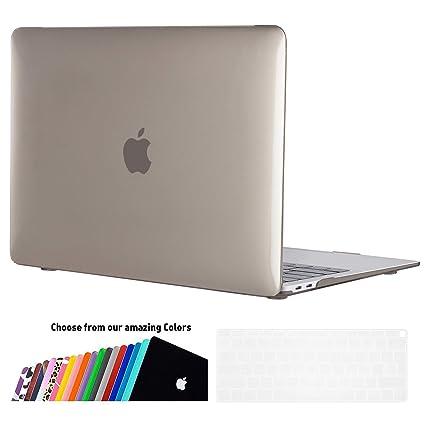 iNeseon Funda para 2018 MacBook Air 13 Retina (Modelo A1932), Delgado Carcasa Case Duro y Cubierta del Teclado para últimas MacBook Air 13.3 Pulgadas ...