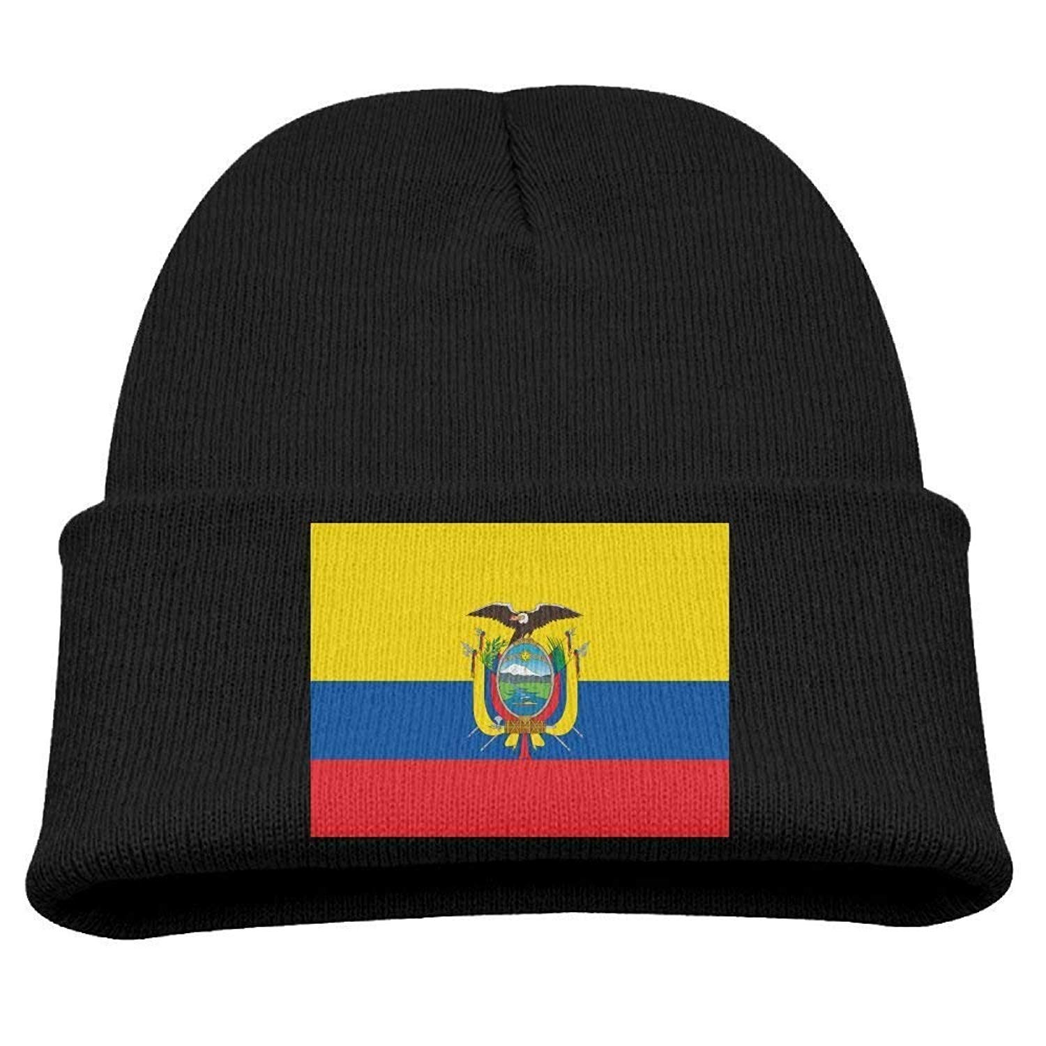 fdgjfghjdfj Flag of Ecuador Kids Hats Winter Funny Soft ...