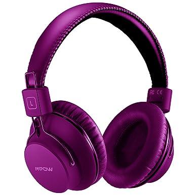 Mpow H1 - Auriculares con Bluetooth y auriculares inalámbricos, ligeros, cómodos para un uso