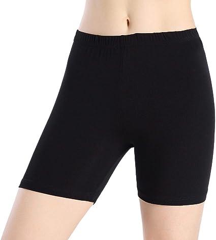 Leggings Court Femme Short sous Jupe Pantalon de Sport