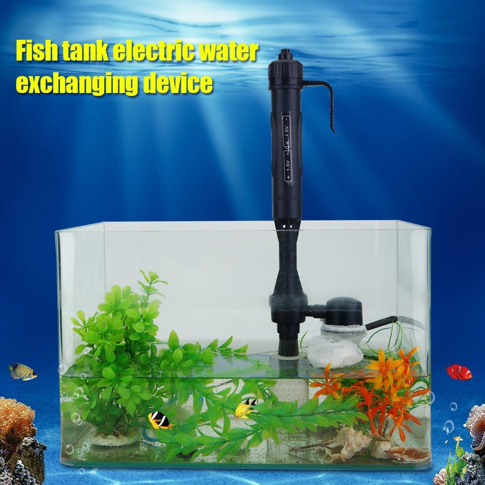 Estink Cambiador de agua de lavado de arena del limpiador de grava del acuario de la batería eléctrica: Amazon.es: Productos para mascotas
