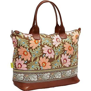 Amy Butler for Kalencom Marni Fashion Bag without Ribbon (Chocolate Fern  Flower) 3bc990e2dc