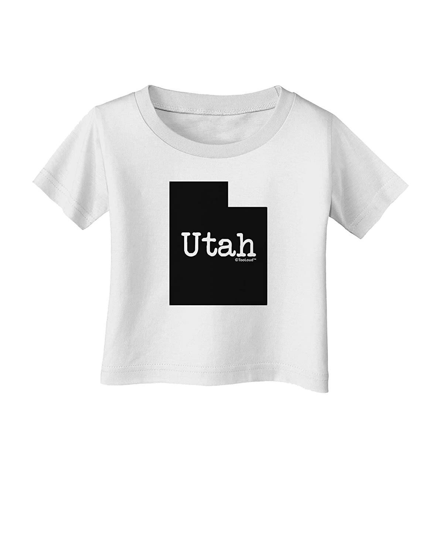 TooLoud Utah United States Shape Infant T-Shirt