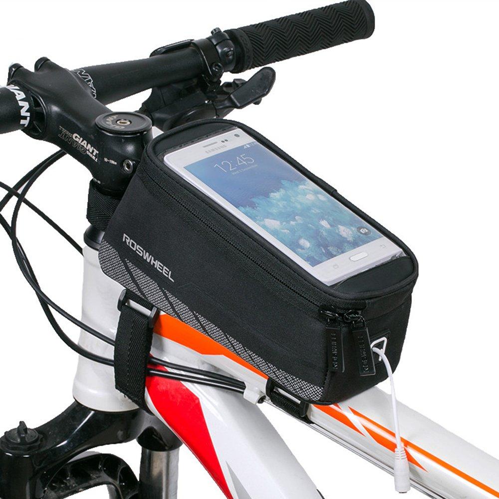 Bestfire Radfahren Fahrrad-Rahmen Pannier vorne oben Tube Pack Rack ...