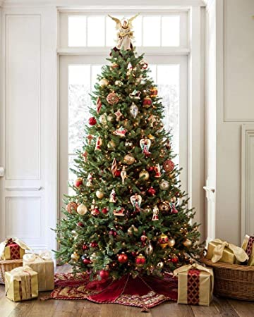 Pictures Of Christmas Trees.Balsam Hill Bh Balsam Fir Premium Artificial Christmas Tree 7 5 Feet Unlit