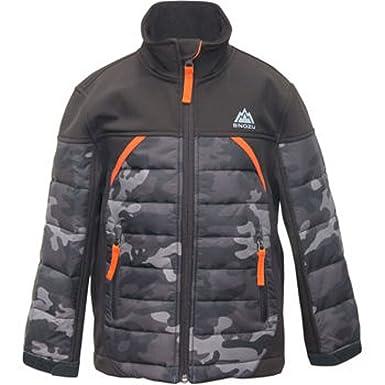 ee7daeb07 Snozu Boys' Softshell Jacket-camo/black