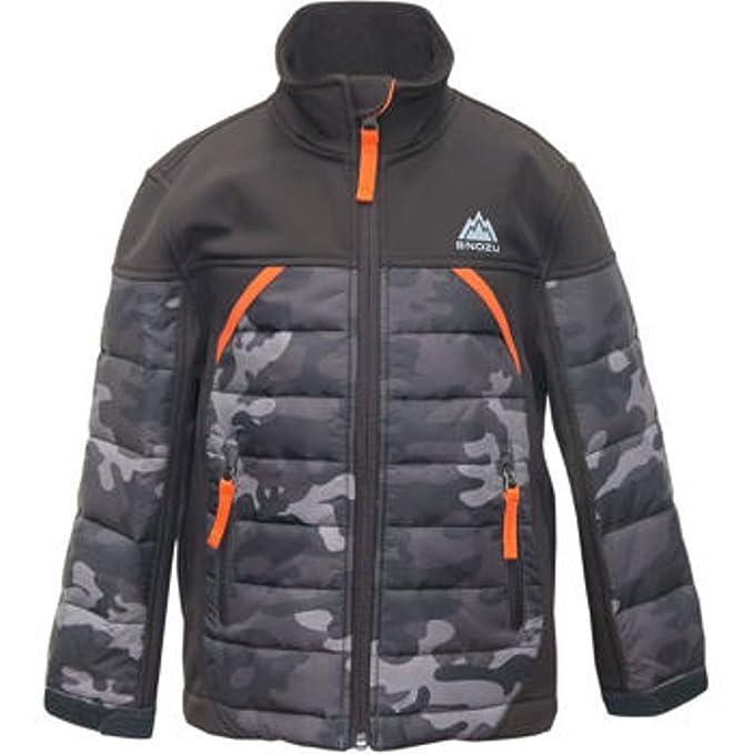 Snozu Boys Softshell Jacket-camo/black