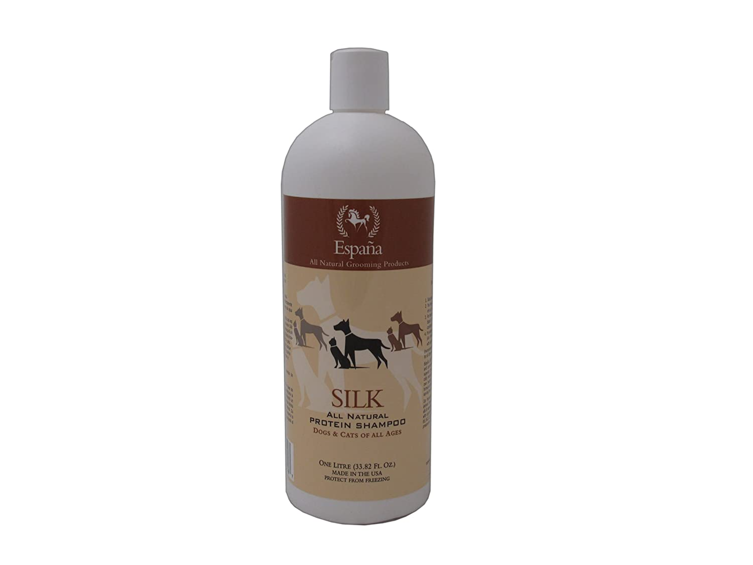Espana Silk ESP0030DC Specially Formulated Silk Protein Shampoo for Dogs and Cats