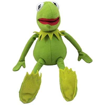 "Disney The Muppets Kermit 10"" Plush Frog: Toys & Games"
