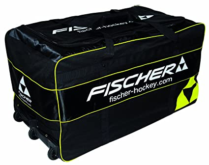 Amazon.com: Fischer Hockey Senior Pro de portero Bolsa Rueda ...