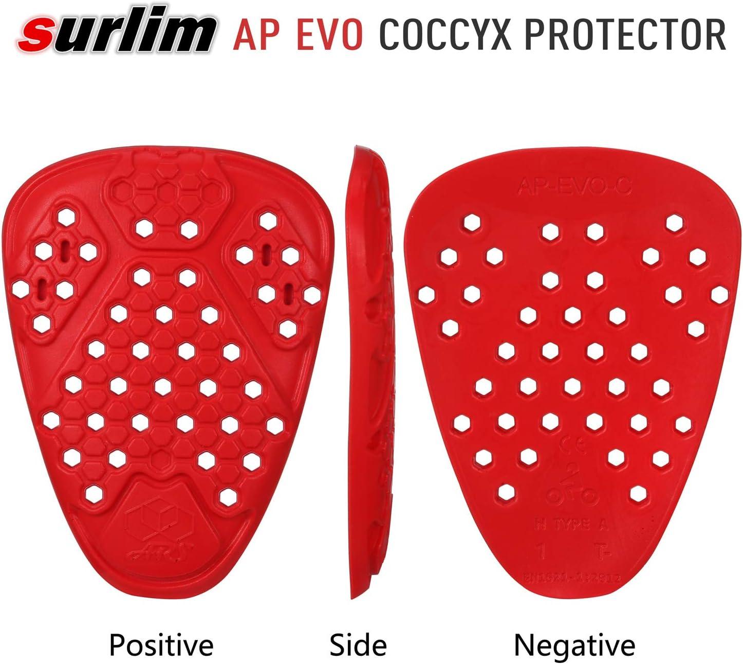 ARS  AP-EVO Replacement Coccyx Pad EN1621-1:2012 Level 1 Protection Orange