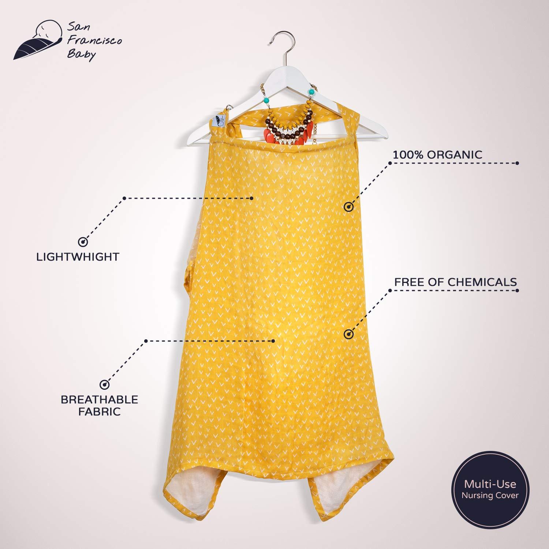 AZO Free Ilovedoty Great fashion Style 100/% cotton nursing cover breastfeeding