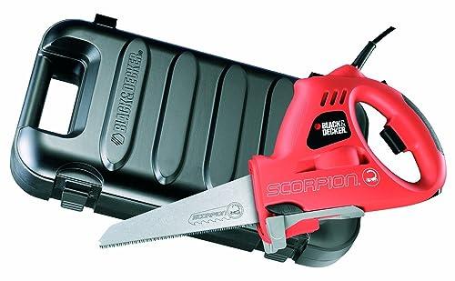 BLACK+DECKER KS890EK Scorpion Powered Handsaw with Kitbox, 400 W