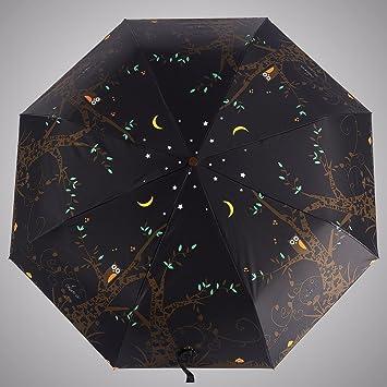 MAYUAN520 Paraguas Personalizado Paraguas Automático Creativo Fully Automatic Umbrella Doble Propósito Paraguas Plegable Hombres De Filtro