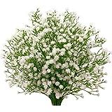 Fleurs artificielles - Lot de 9pièces - Gypsophiles - Décoration de mariage - Houda