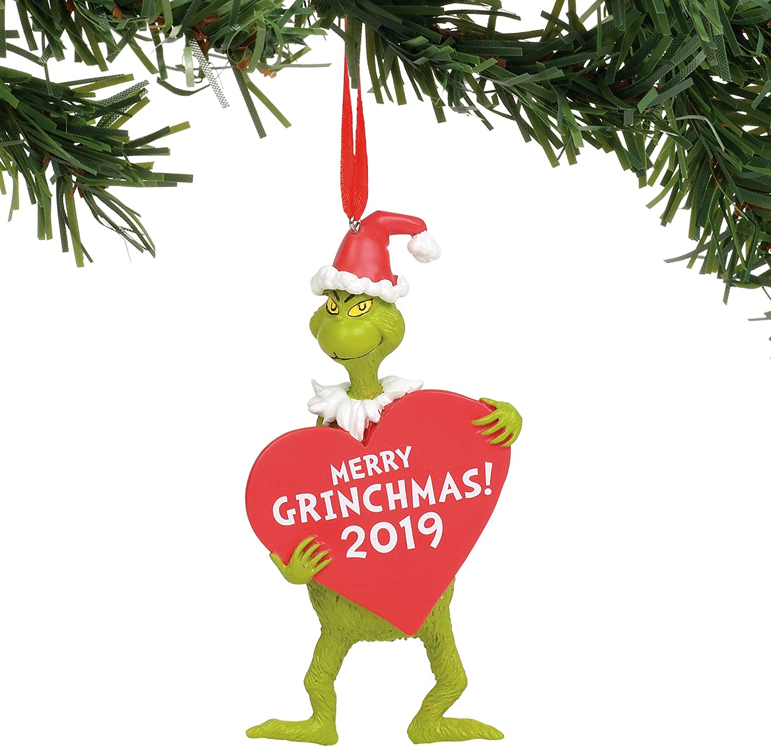 Amazon.com Department 18 Dr. Seuss The Grinch with Heart Dated ...