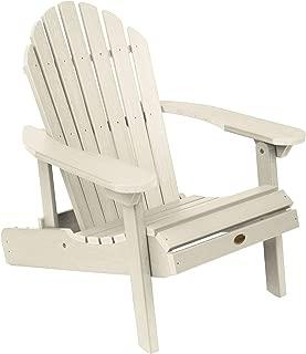 product image for Highwood AD-CHL1-WAE Hamilton Folding and Reclining Adirondack Chair, Adult Size, Whitewash