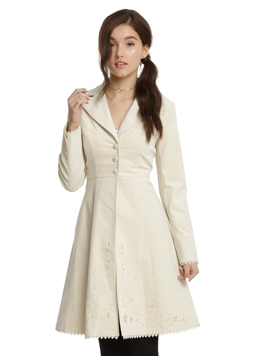 Disney Beauty and The Beast Belle Embroiderd Coat HT Exclusive Live Action Movie