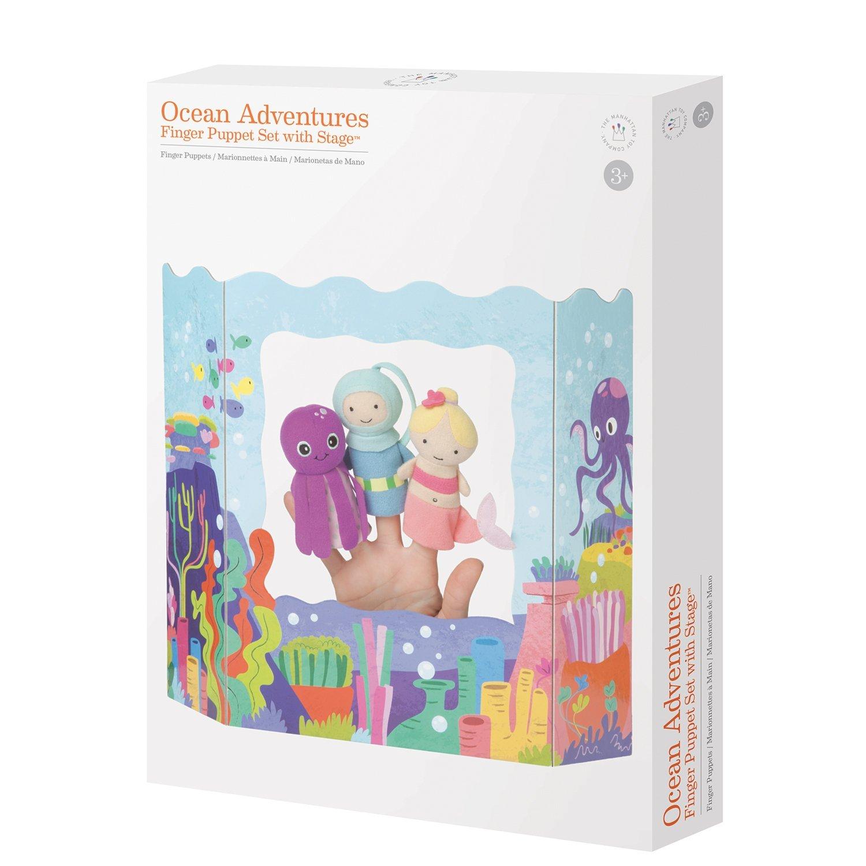 Manhattan Toy Ocean Adventures Finger Puppet Set 313540