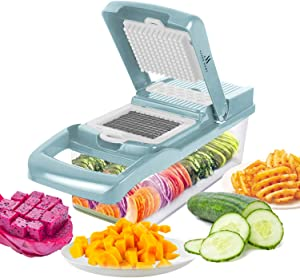 Asaph Home Onion Chopper French Fry Cutter And Potato Peelers For Kitchen Vegetable Slicer And Chopper With Dash