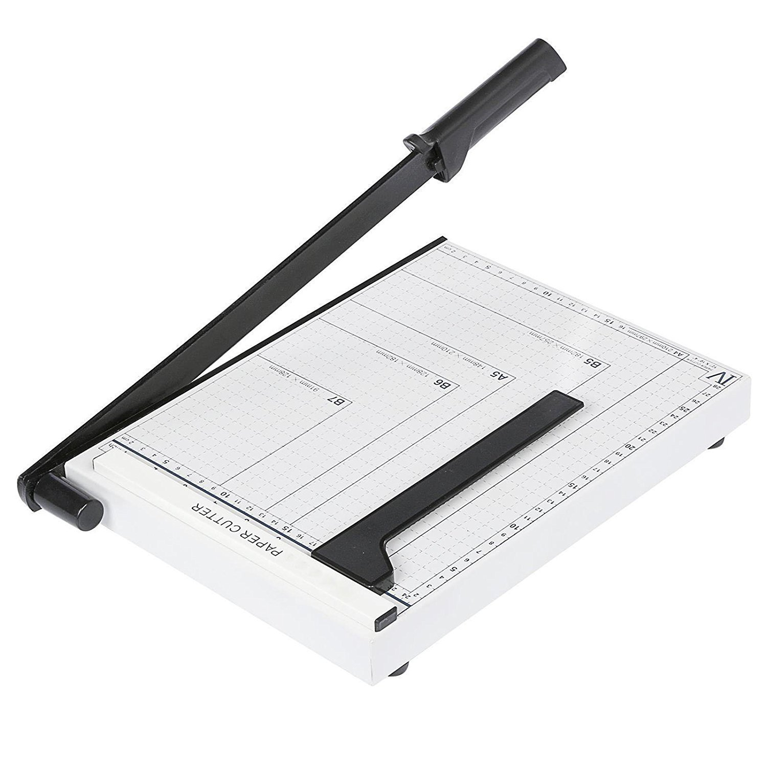 Guillotine Paper Trimmer, Heavy Duty Professional A4 Paper Desk Cutting Tool Photo Cutter Machine for Home/Office Use