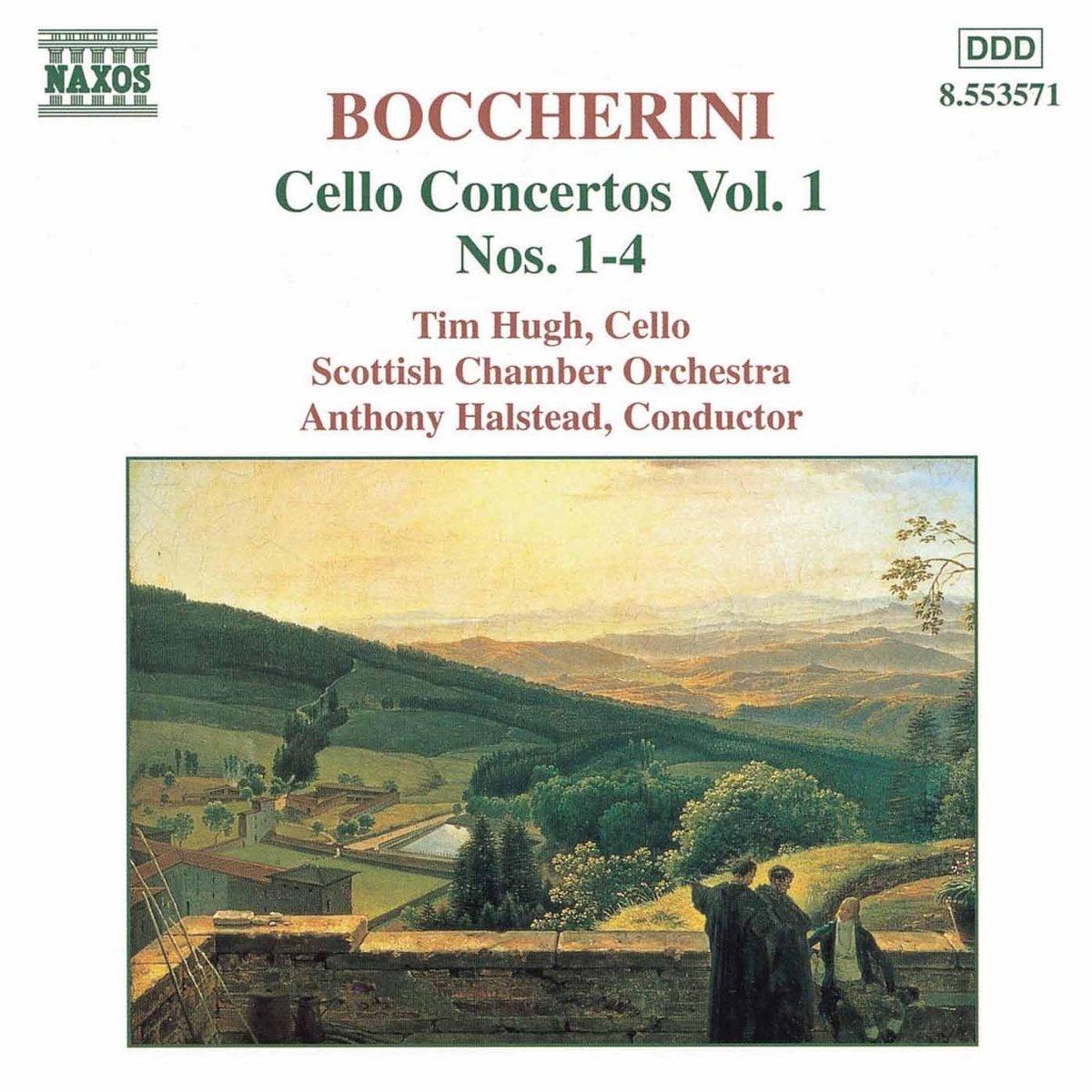 Concierto Para Violonchelo Vol. 1: Tim Hugh Vlc, Luigi Boccherini: Amazon.es: Música