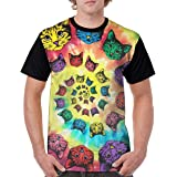 fecda9a86 Spiral Cats Catopia Tie Dye Mens 3D Print T-Shirt Short Sleeve Graphic  Summer Tee