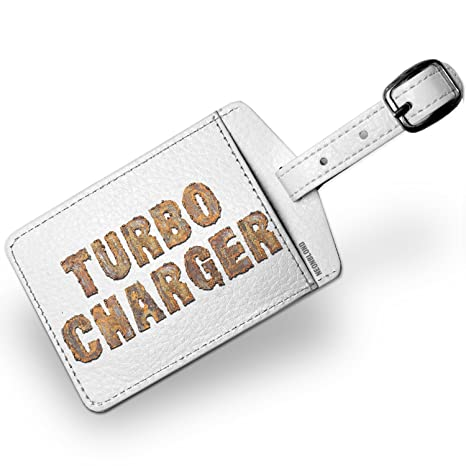 Amazon.com | Luggage Tag Turbo Charger Rusty Vintage Metal Welding - NEONBLOND | Luggage Tags