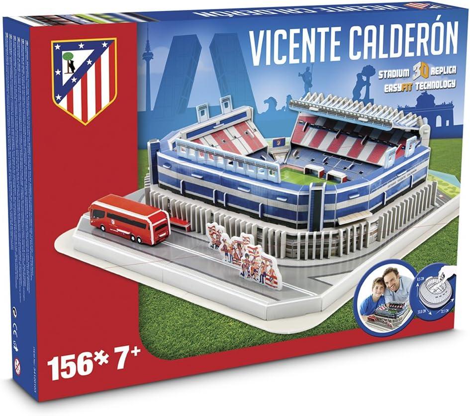 Puzzle 3D Nanostad Atletico De Madrid F.C. Vicente Calderon ...
