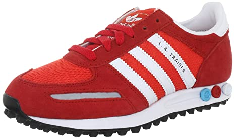 trainer adidas rosse e nere
