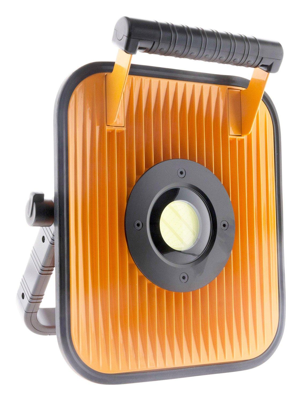 Elexity Proyector LED 30 W con batería para Obras con Altavoz y ...