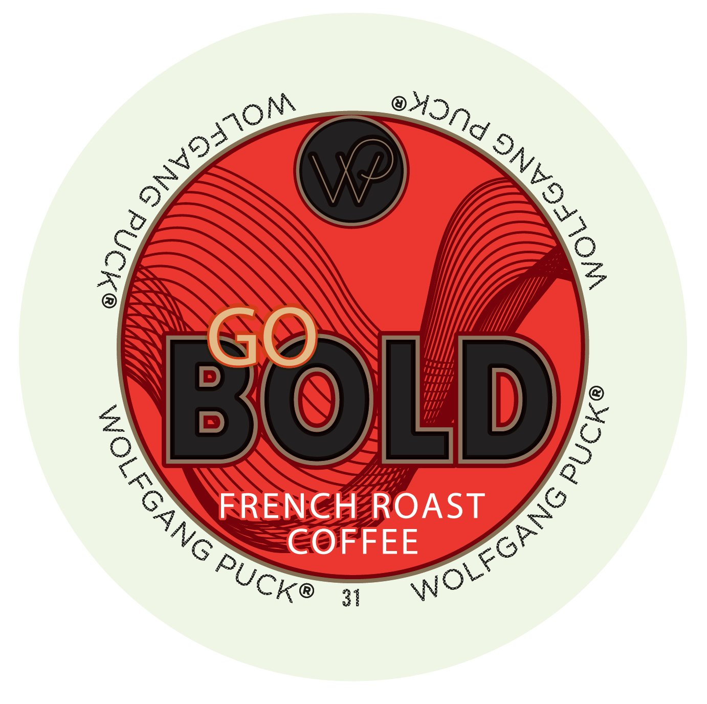 Wolfgang Puck Go Bold French Roast Coffee Keurig K-Cups, 96 Count by Wolfgang Puck