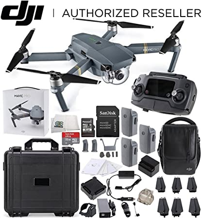 ad55c658e0d DJI Mavic Pro Fly More Combo Collapsible Quadcopter Water Proof Hard Case Starters  Bundle