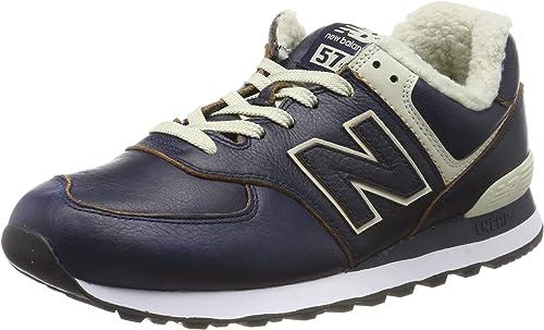 New Balance Herren 574v2 Sneaker, Schwarz