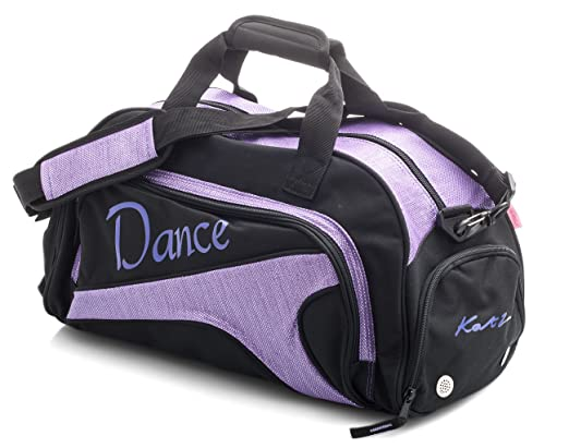 20583f8f488 Katz Dancewear Girls Ladies Large Purple Dance Ballet Tap Kit Holdall  Sports Bag KB73  Amazon.co.uk  Sports   Outdoors