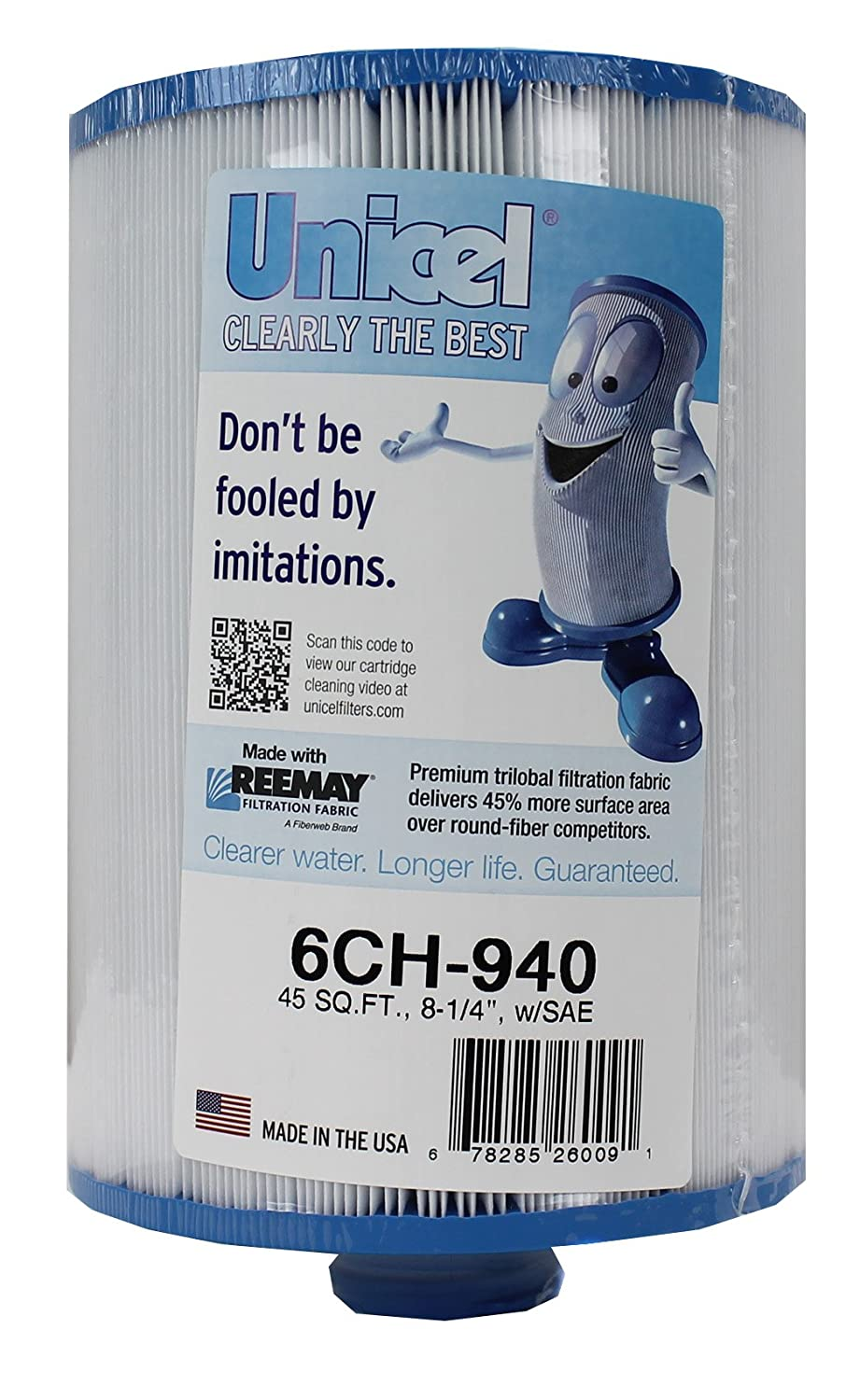 2 New Unicel 6CH-940 Waterway Vita Aber Spa Filter Replacement Cartridges 6CH940