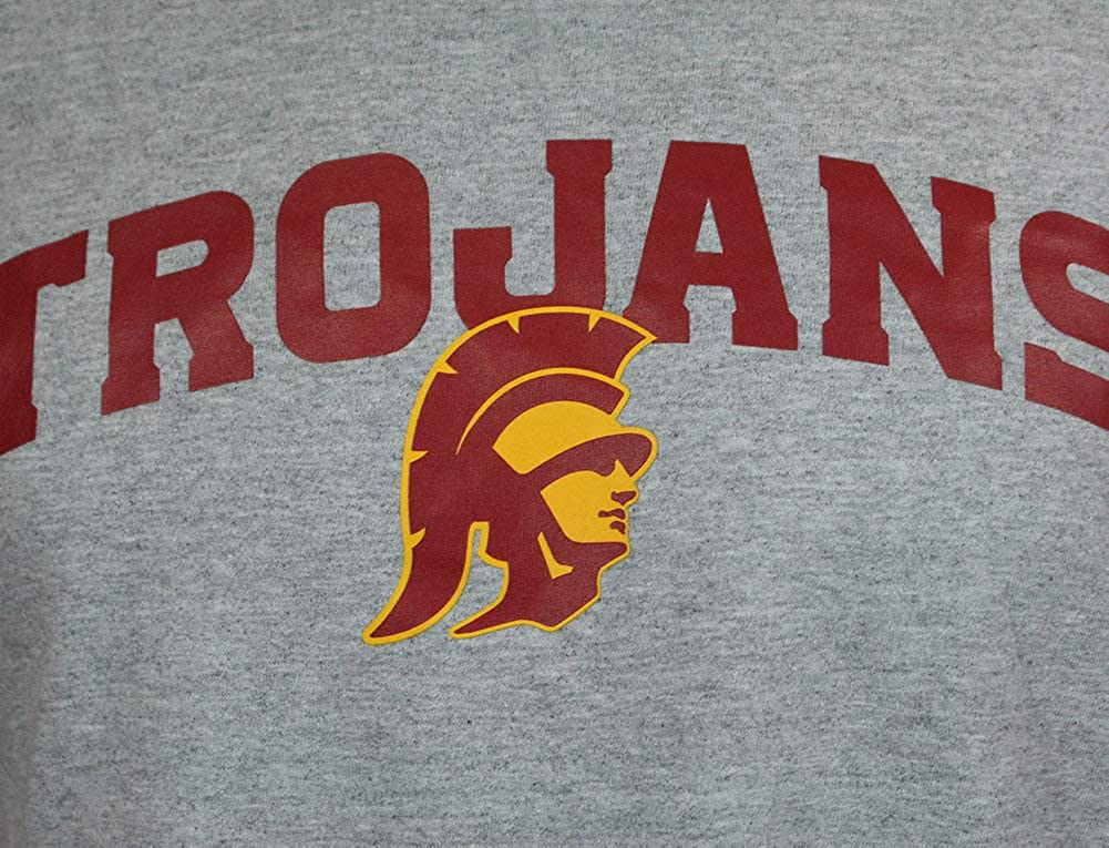 Elite Fan Shop NCAA Mens Short Sleeve T-Shirt Charcoal Gray Arch