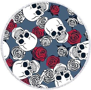 acheter serviette tete de mort online 13