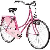 Hollandrad 28'' Bermuda Valencia Stadtrad Damen Holland Fahrrad Citybike Beleuchtung Gepäckträger Rücktrittbremse